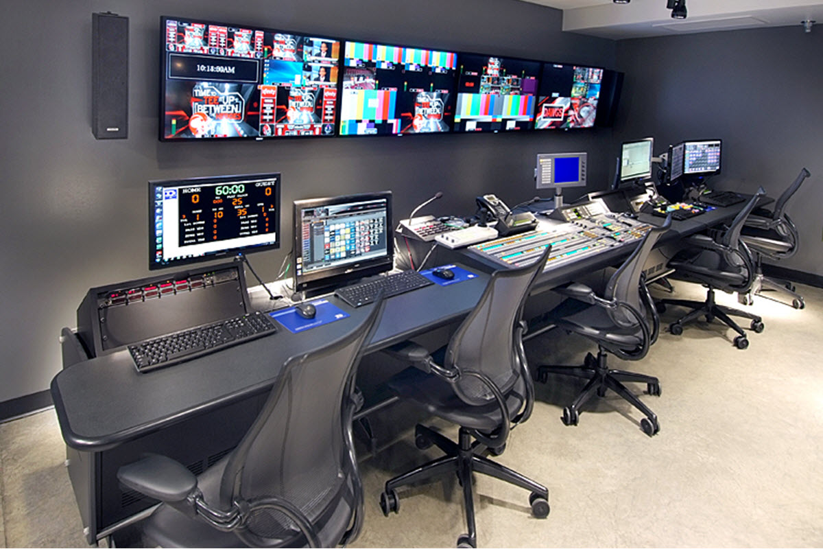 University of Georgia Sanford Stadium Scoreboard Control Room