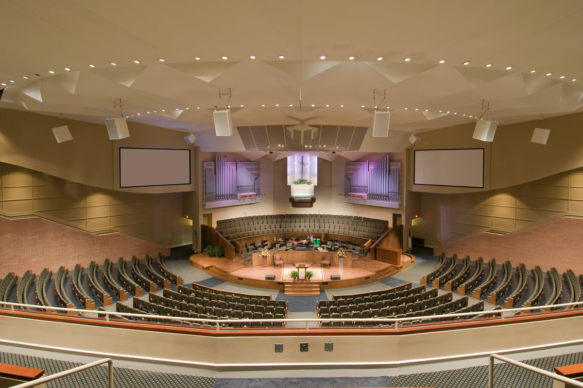 First Baptist Jonesboro Sanctuary