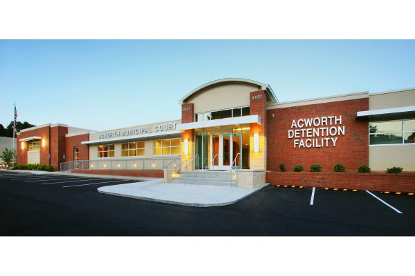 City of Acworth Municipal Courtroom and Jail Administration Renovation