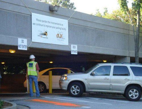 Georgia Tech Student Center Parking Deck