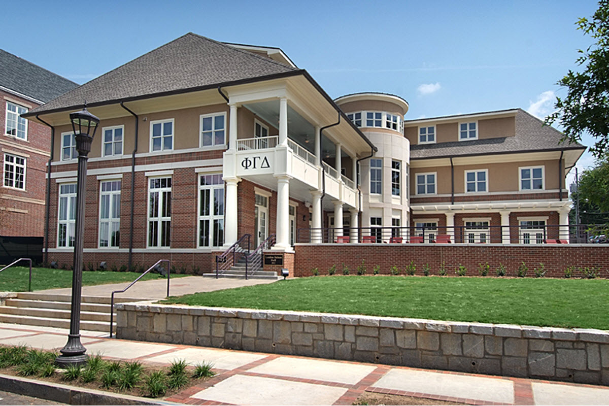 Phi Gamma Delta Fraternity House at Georgia Tech