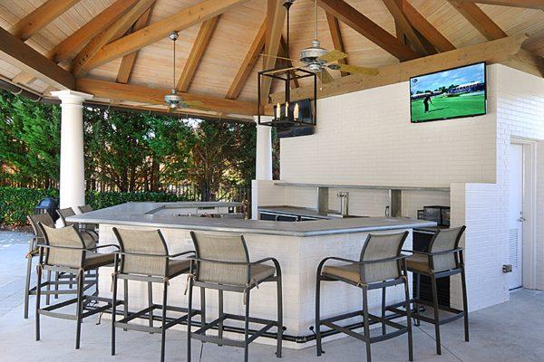 Ansley Golf Club Pool Pavilion